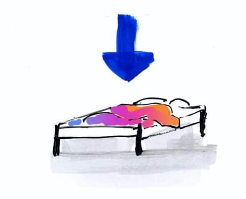 Gelassenheit lernen: guter Nachtschlaf
