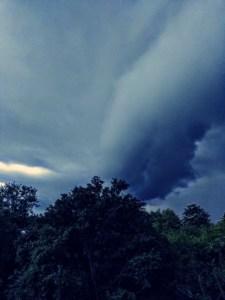 Sturm Wolke Brainstorming